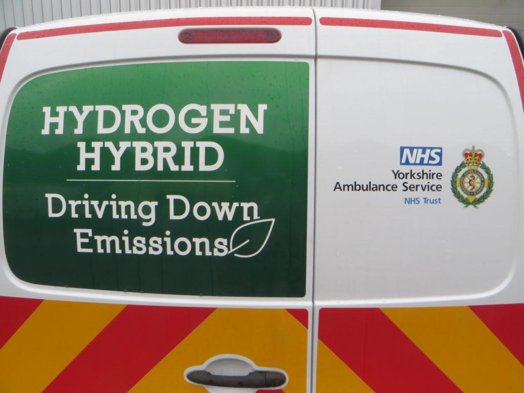 Hydrogen hybrid ambulance